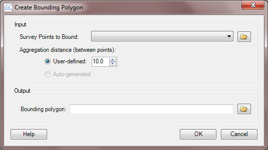 Bounding Polygon Tool
